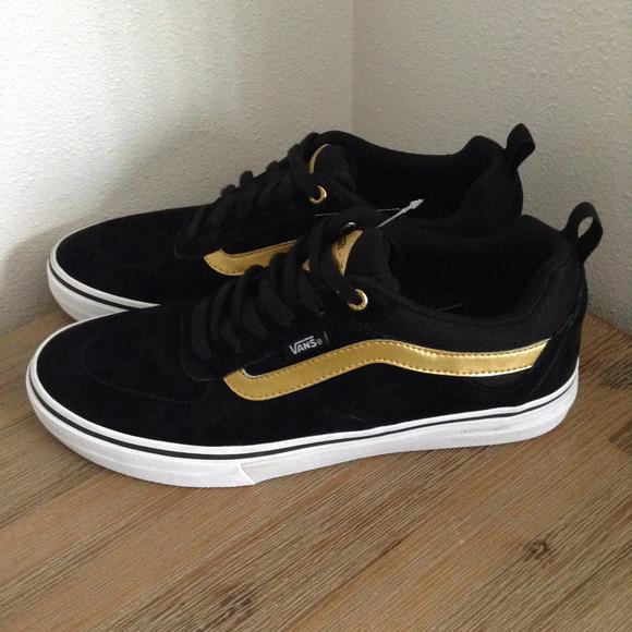 Vans Kyle Walker Pro Men Shoes Black Size 9 New NWT